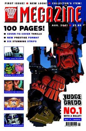 Judge Dredd - The Megazine édition Magazine V4 (2001 - 2002)