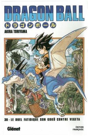 couverture, jaquette Dragon Ball 38 Édition originale - Simple  (Glénat Manga)