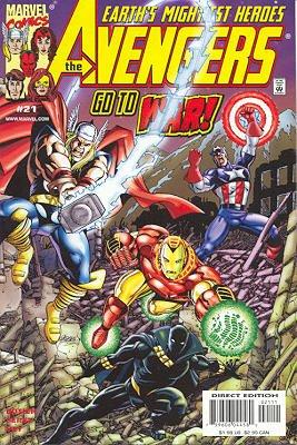 Avengers # 21 Issues V3 (1998 - 2004)