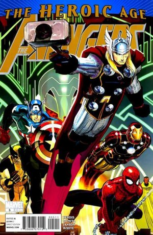 Avengers # 5 Issues V4 (2010 - 2012)
