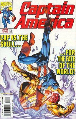 Captain America 16 - Red Glare