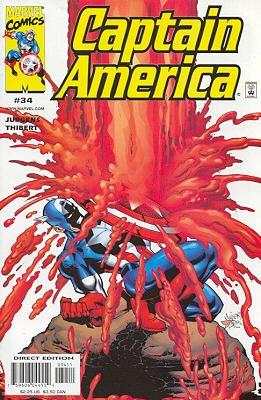 Captain America # 34 Issues V3 (1998 - 2002)