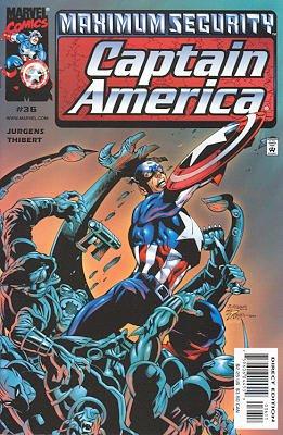 Captain America # 36 Issues V3 (1998 - 2002)