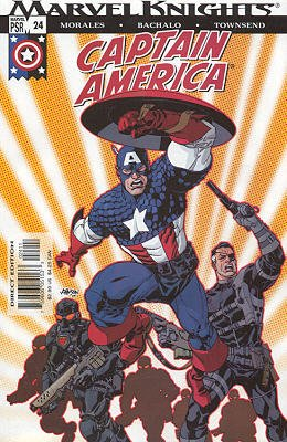 Captain America # 24 Issues V4 (2002 - 2004)