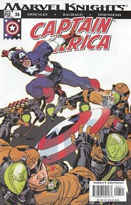 Captain America # 26 Issues V4 (2002 - 2004)
