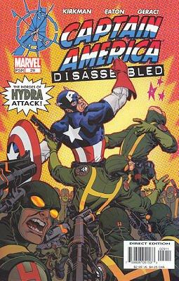 Captain America # 29 Issues V4 (2002 - 2004)