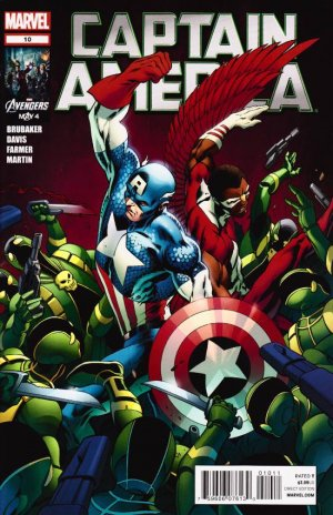 Captain America # 10 Issues V6 (2011 - 2012)