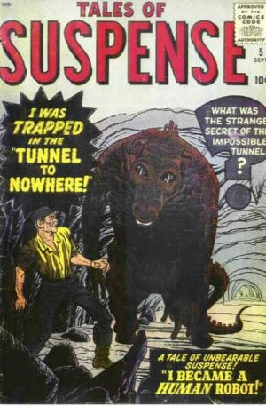 Tales of Suspense # 5 Issues V1 (1959 - 1968)