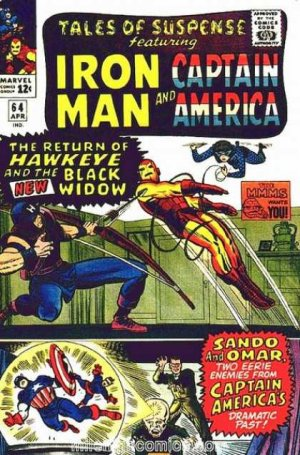 Tales of Suspense # 64 Issues V1 (1959 - 1968)