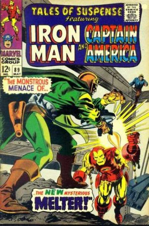 Tales of Suspense # 89 Issues V1 (1959 - 1968)