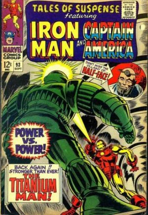 Tales of Suspense # 93 Issues V1 (1959 - 1968)