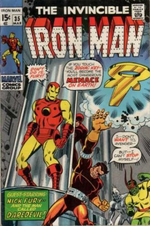 Iron Man # 35 Issues V1 (1968 - 1996)