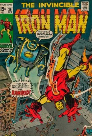 Iron Man # 36 Issues V1 (1968 - 1996)
