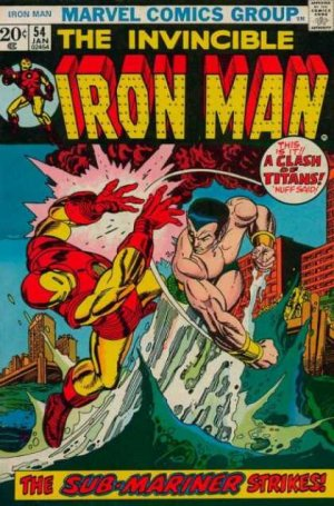 Iron Man # 54 Issues V1 (1968 - 1996)