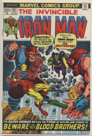 Iron Man # 55 Issues V1 (1968 - 1996)