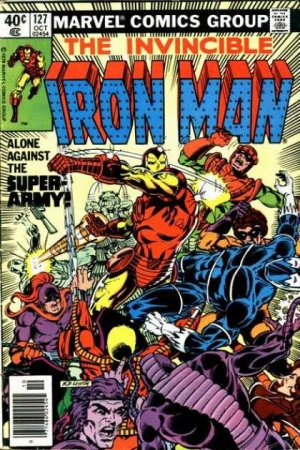 Iron Man # 127 Issues V1 (1968 - 1996)