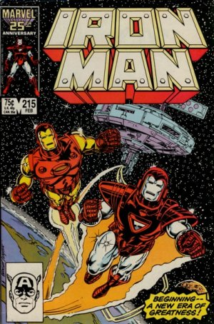 Iron Man # 215 Issues V1 (1968 - 1996)