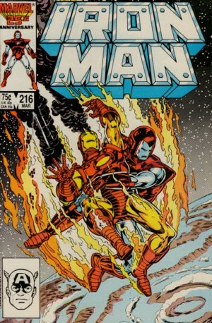Iron Man # 216 Issues V1 (1968 - 1996)