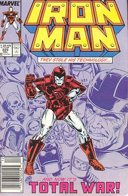 Iron Man # 225 Issues V1 (1968 - 1996)