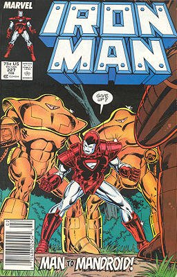 Iron Man # 227 Issues V1 (1968 - 1996)