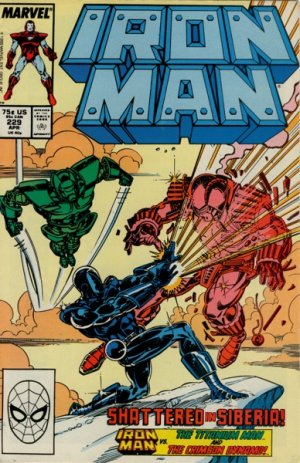 Iron Man # 229 Issues V1 (1968 - 1996)