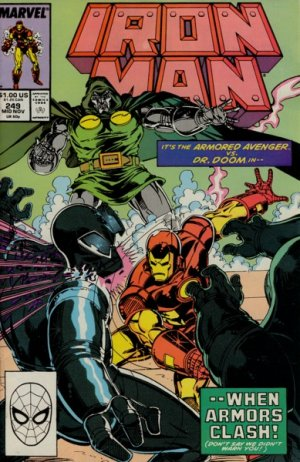 Iron Man # 249 Issues V1 (1968 - 1996)