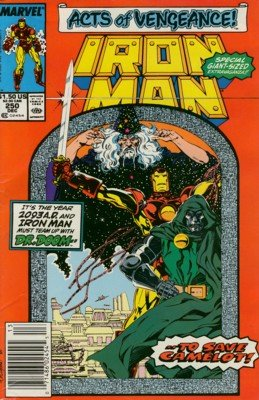 Iron Man # 250 Issues V1 (1968 - 1996)
