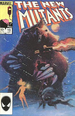The New Mutants # 19 Issues V1 (1983 - 1991)