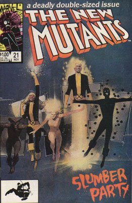 The New Mutants # 21 Issues V1 (1983 - 1991)