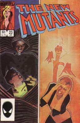 The New Mutants # 23 Issues V1 (1983 - 1991)