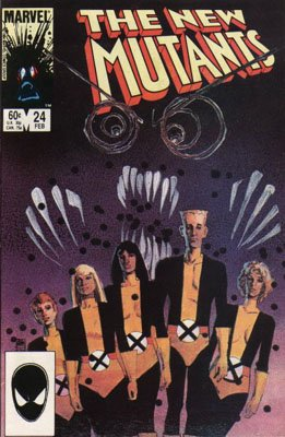 The New Mutants # 24 Issues V1 (1983 - 1991)