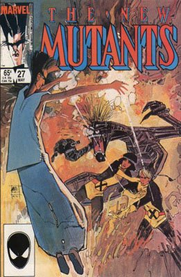The New Mutants # 27 Issues V1 (1983 - 1991)