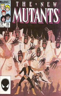 The New Mutants # 28 Issues V1 (1983 - 1991)