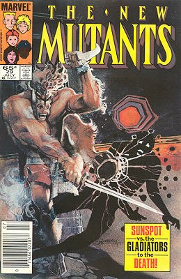 The New Mutants # 29 Issues V1 (1983 - 1991)