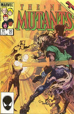 The New Mutants # 30 Issues V1 (1983 - 1991)