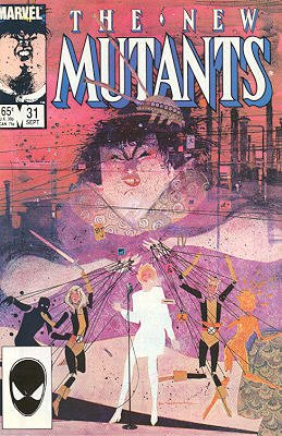 The New Mutants # 31 Issues V1 (1983 - 1991)