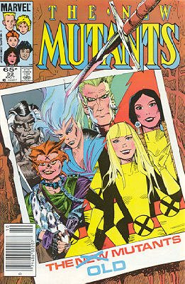 The New Mutants # 32 Issues V1 (1983 - 1991)