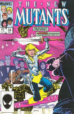The New Mutants # 34 Issues V1 (1983 - 1991)
