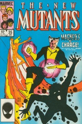 The New Mutants # 35 Issues V1 (1983 - 1991)