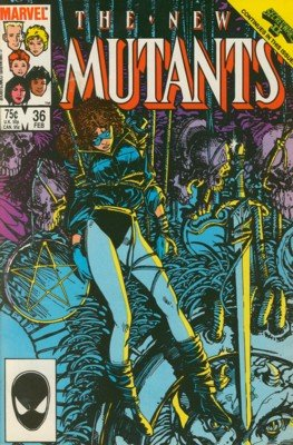 The New Mutants # 36 Issues V1 (1983 - 1991)