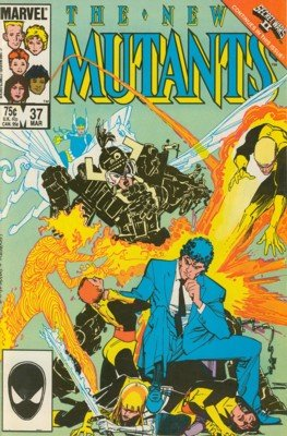 The New Mutants # 37 Issues V1 (1983 - 1991)