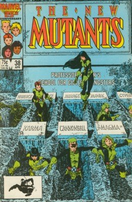 The New Mutants # 38 Issues V1 (1983 - 1991)