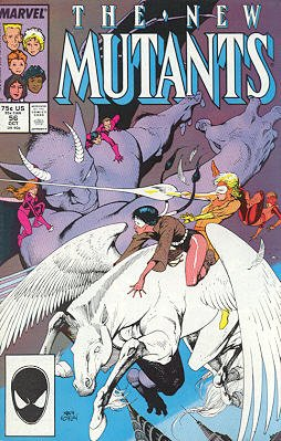 The New Mutants # 56 Issues V1 (1983 - 1991)