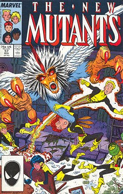 The New Mutants # 57 Issues V1 (1983 - 1991)