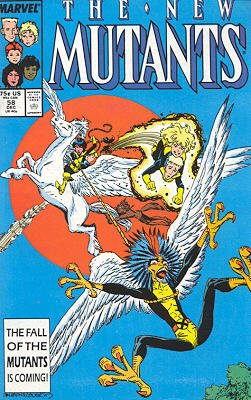 The New Mutants # 58 Issues V1 (1983 - 1991)