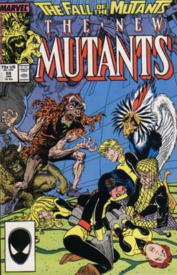 The New Mutants # 59 Issues V1 (1983 - 1991)