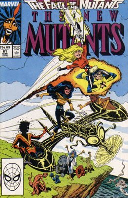 The New Mutants # 61 Issues V1 (1983 - 1991)
