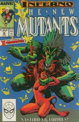 The New Mutants # 72 Issues V1 (1983 - 1991)