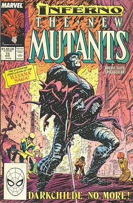 The New Mutants # 73 Issues V1 (1983 - 1991)