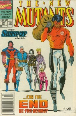 The New Mutants # 99 Issues V1 (1983 - 1991)